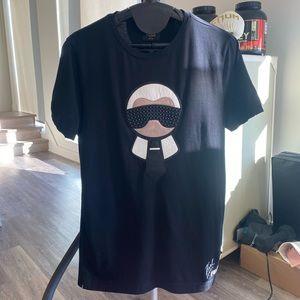 FENDI Black Karlito T-Shirt